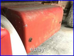 1986 Kenworth T600 Aluminum/Poly Battery Box Length 32.50 Width 16.5