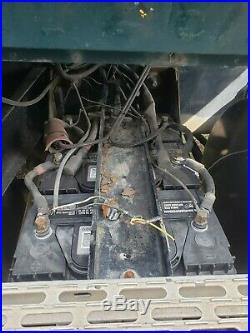 1990 MACK CH613 COMPLETE BATTERY BOX STEEL BOX With ALUMINUM LID