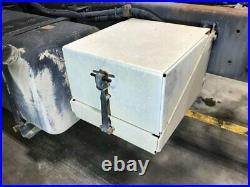 1997 Freightliner FL80 Aluminum Battery Box Length 15.50 Width 17.0
