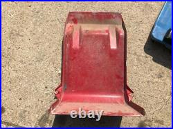 2008 Kenworth T800 Aluminum/Poly Battery Box withCover & Brackets