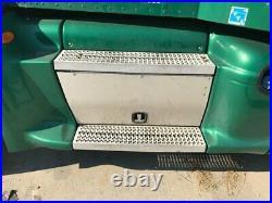 2013 Peterbilt 386 Aluminum Battery Box Length 33.50 Width 25.0