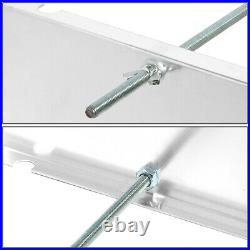 Aluminum Battery Box Relocation Kit with2-Gauge Cable Wire 13.5W X 9.5D X 10H