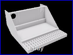 Battery Box Base for Peterbilt, 30Wx30.75Dx15.5H withDiamond Grip Step FREE SHIP