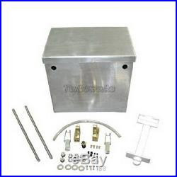 Battery Box Relocation Kit Aluminum Polished