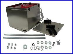 Battery Box aluminum NHRA Optima battery