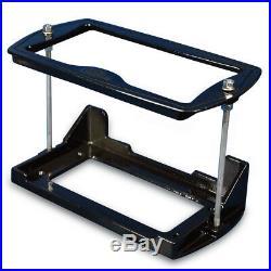Cast Aluminum Group 24 Series Battery Box Matte Black