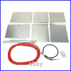 Complete Aluminum Battery Box Relocation Kit For 1979-2014 Ford Mustang