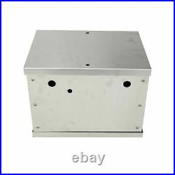 Complete Aluminum Battery Box Relocation Kit Universal Polished Billet Race PC