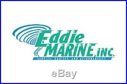 Eddie Marine Bright Polished Billet Aluminum Battery Box For Optima D31 Battery
