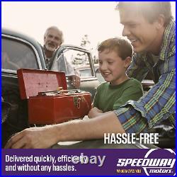 Eddie Motorsports MS374-75P Optima Battery Box, Polished Aluminum