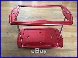 Eddie Motorsports MS374-80 Billet Aluminum 24 Series Battery Box-Bright Red
