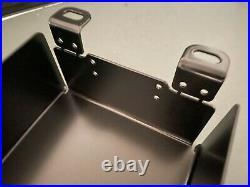Honda CX500 Large Motor Mount Battery Box! Black Powder coated, aluminum