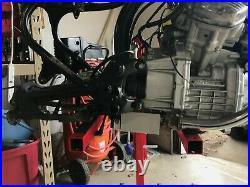Honda CX500 Large Motor Mount Battery Box! Laser cut from aluminum