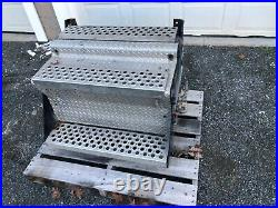 Kenworth T800 Steel and Aluminum Battery Box and Air Tanks