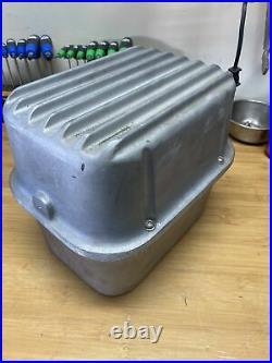 Optima Battery Box Cast Aluminum Finned