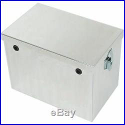 Phoenix USA SP14B Tow Rax Aluminum Battery Box 14 Machine Finish
