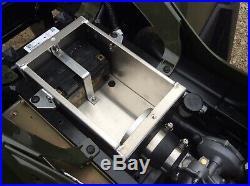 Polaris Sportsman 450 570 Aluminum Intake Air Battery Box Relocate 2-6 HP CFM