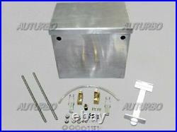 Polished Aluminum Relocation Battery Box Kit