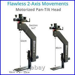Proaim Boxer HD2X Motorized Pan Tilt Head Controller +battery box 2 axis Control