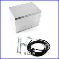 Procomp Electronics Fabricated Polished Aluminum Battery Box & Relocation Kit