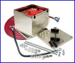 TAYLOR/VERTEX Aluminum 200 Series Battery Box with2 ga Cable P/N 48201