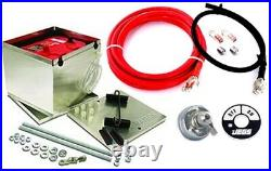 Taylor 48200K 200 Series Aluminum Battery Box Kit Includes Taylor 200 Series Al