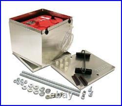 Taylor 48200 NHRA Legal Aluminum Optima Battery Box 11.25 X 9.5 X 8.75