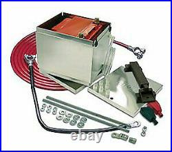 Taylor 48301 Aluminum Battery Box withCables