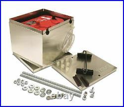Taylor Wire / Vertex 48200 TAY48200 BATTERY BOX ALUMINUM NHRA OPTIMA BATTERY