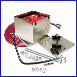 Taylor Wire Vertex 48201 200 Series Aluminum Battery Box, For Optima Battery