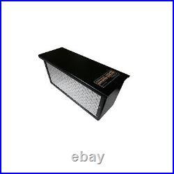 Torklift A7708R Universal Black 6V/12V Powerarmor Aluminum Battery Lockable Box