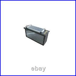 Torklift A7712RS Universal DH Aluminum Lockable Battery Box with Solar Panel