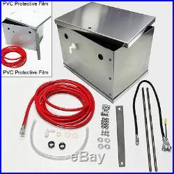 UPR NHRA Legal Ultra Light Aluminum Battery Box Kit for your 79-14 mustan